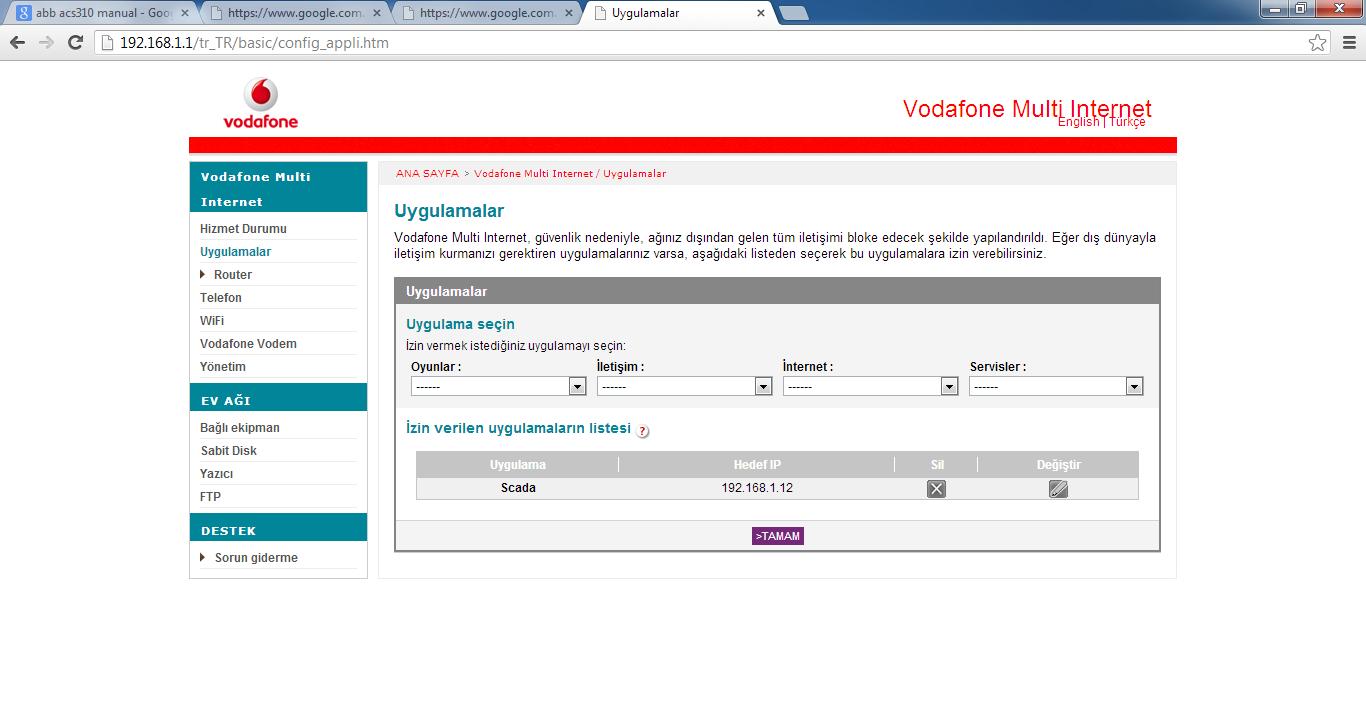 VodafonePortAcma