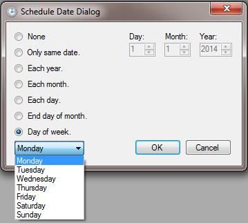 Date Dialog
