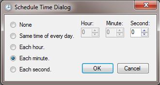 Time Dialog
